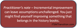 Incremental Improvement revolution